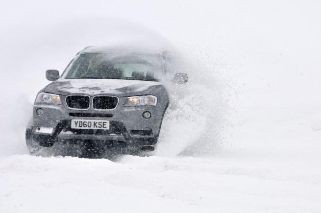 BMW X3 F25 xDrive Winterreifen vs Sommerreifen Vergleich 02 655x435