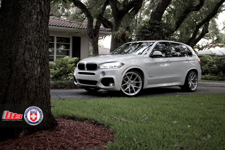 BMW X5 with HRE P101 in Brushed Clear by Wheels Boutique 1 750x500