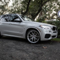 BMW X5 with HRE P101 in Brushed Clear by Wheels Boutique
