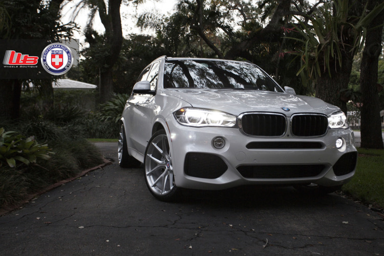 BMW X5 with HRE P101 in Brushed Clear by Wheels Boutique 5 750x500