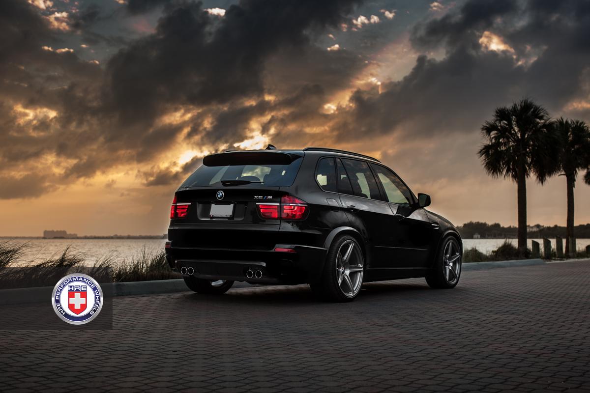 BMW X5M HRE TR45 Wheels 07