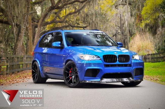 BMW X5M on Velos Designwerks Solo V 06 655x435