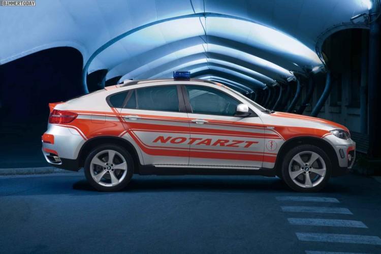 BMW X6 E71 Notarzt NEF Rettmobil 2011 01 750x500