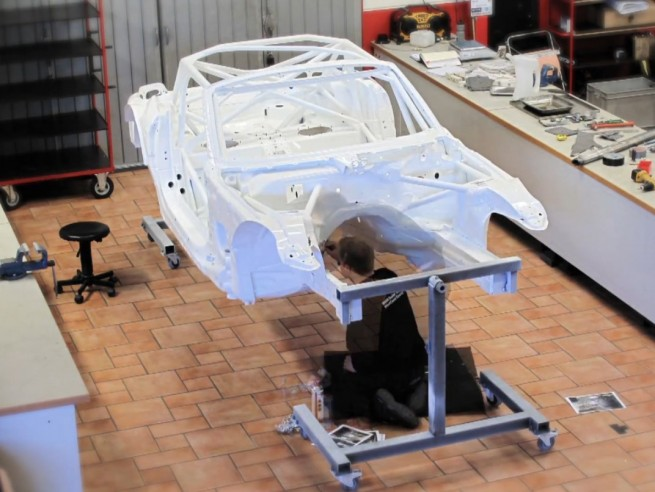 BMW Z4 GT3 Montage WestCoastRacing 655x492