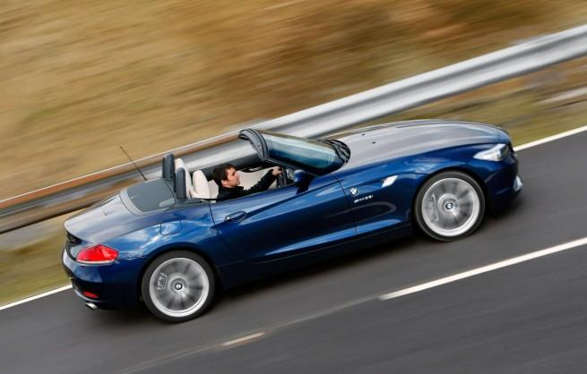 BMW Z4 Roadster E89 Tiefseeblau Metallic UK 11 655x418