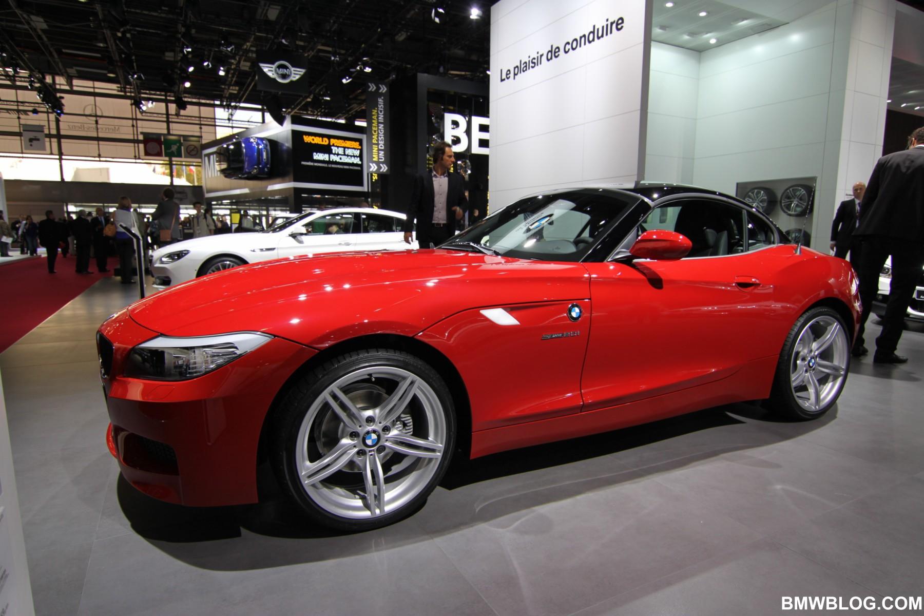 2012 Paris Motor Show Bmw Z4 Sdrive20i M Sport In