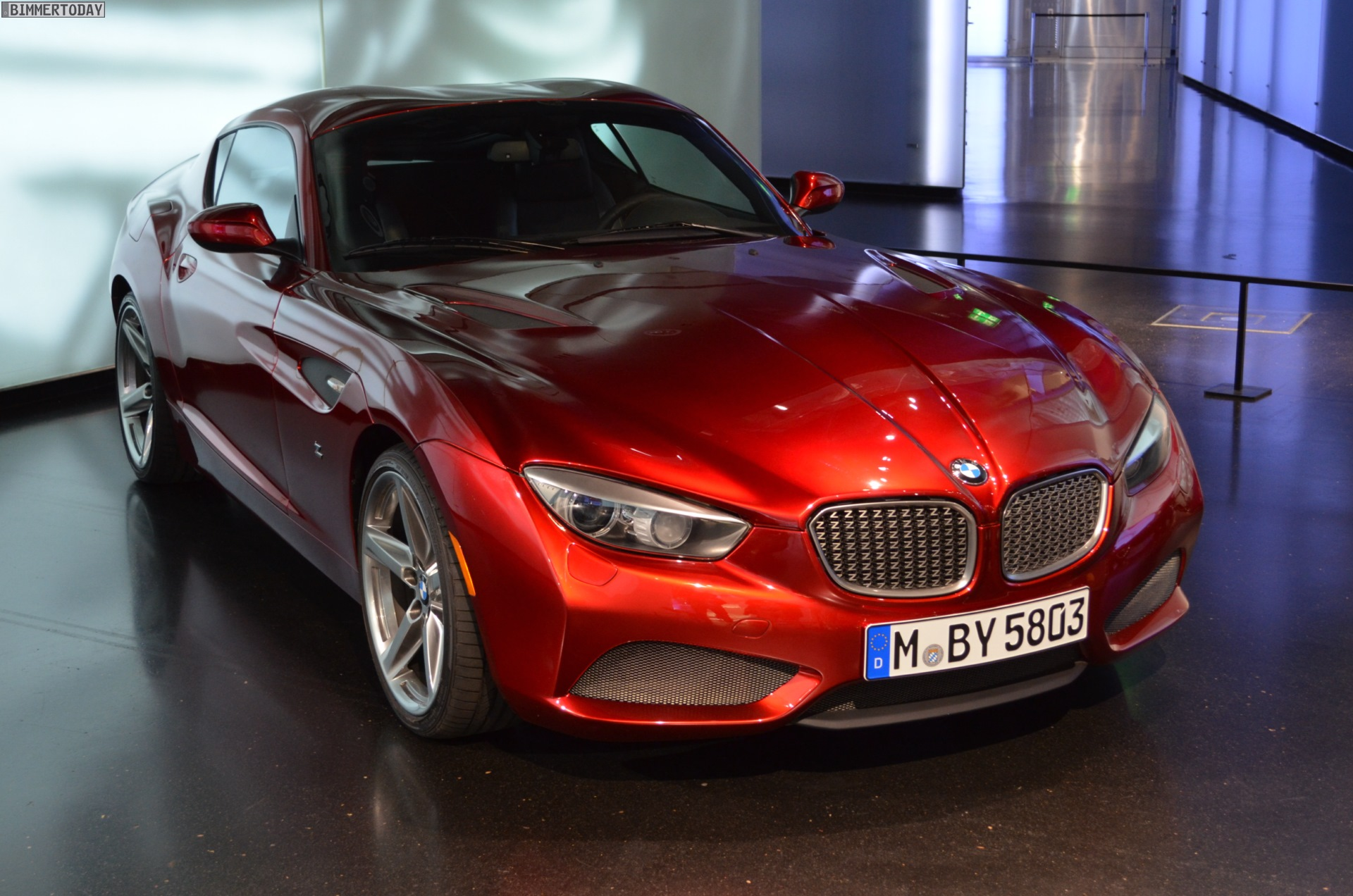 Bmw 328 Hommage Bmw Zagato Coupe And Roadster Photo Gallery