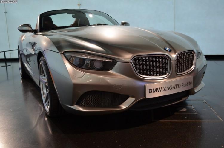 BMW Zagato Roadster Z4 Design Studie BMW Museum 02 750x496