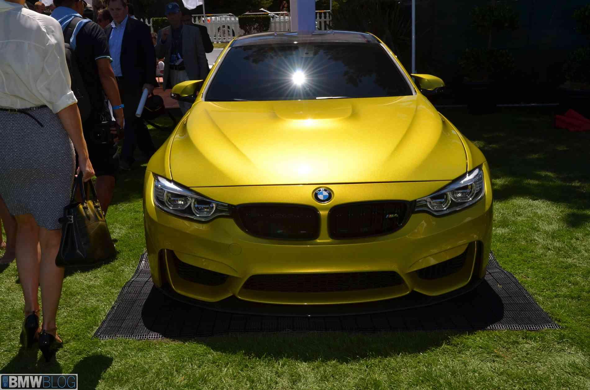 BMW concept m4 pebble beach image