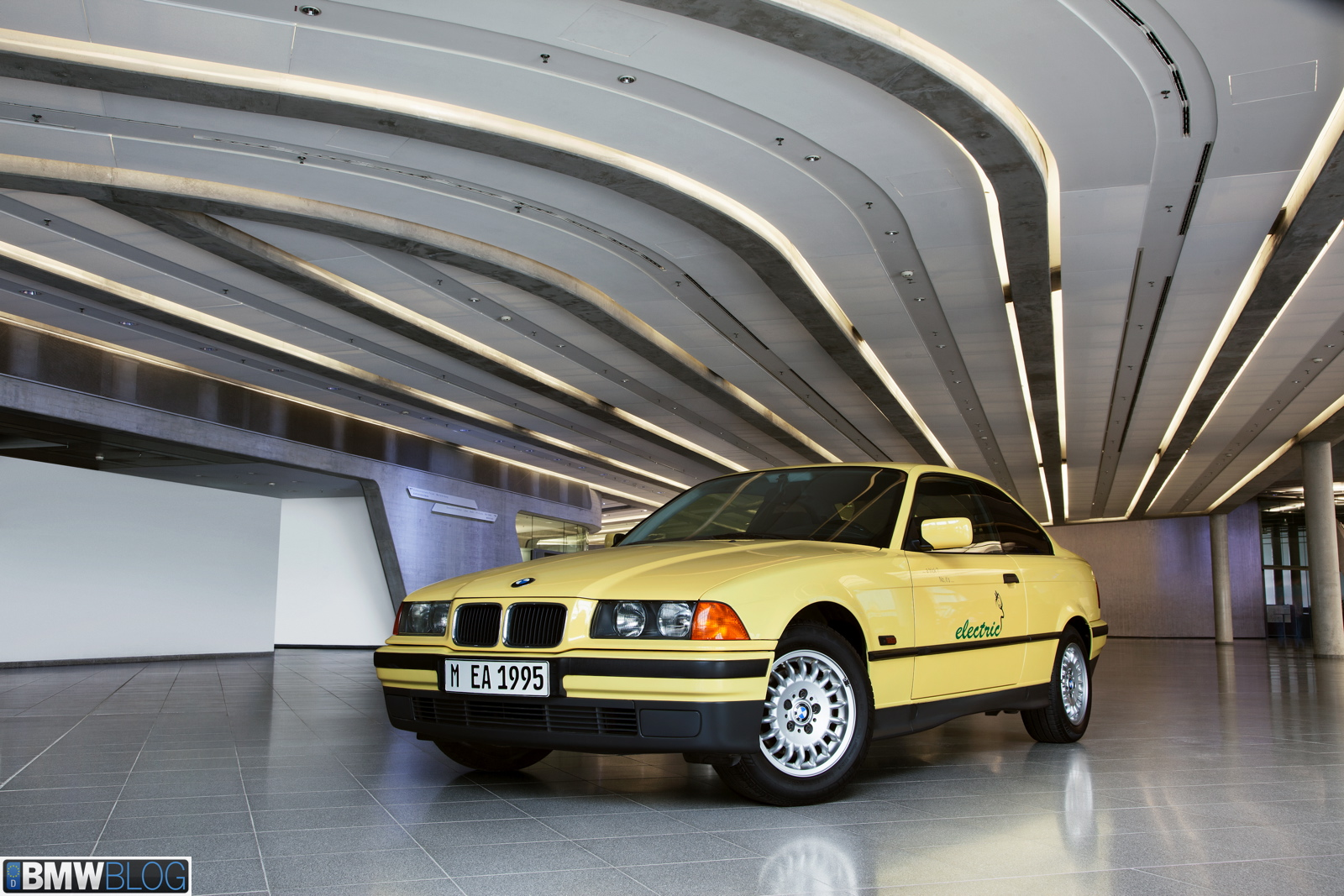 First Bmw Electric Car Was Built 43 Years Ago