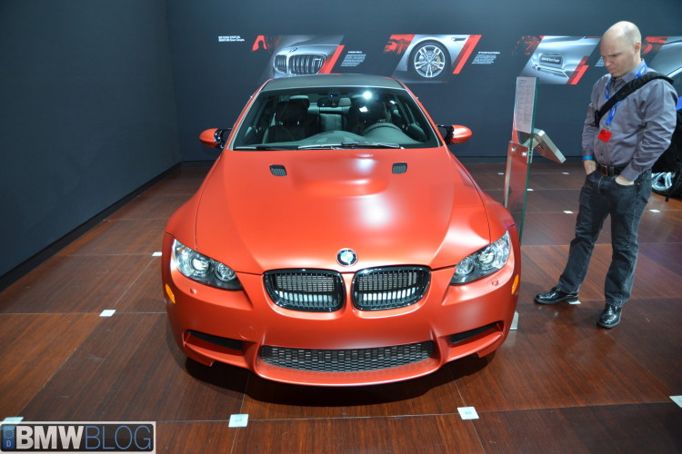 BMW frozen red pictures 011 750x500