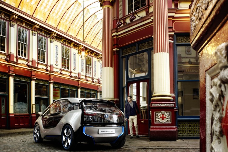 BMW i3 Concept Innenraum London 2012 011 750x500