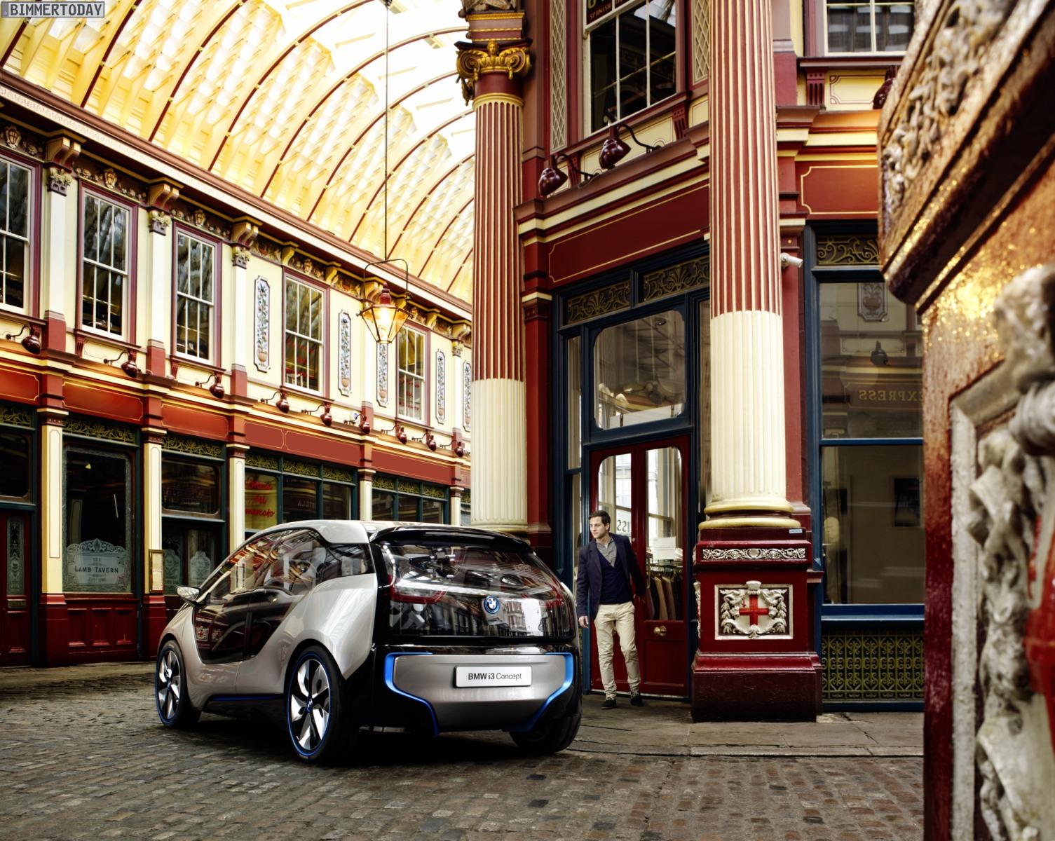 BMW i3 Concept Innenraum London 2012 011