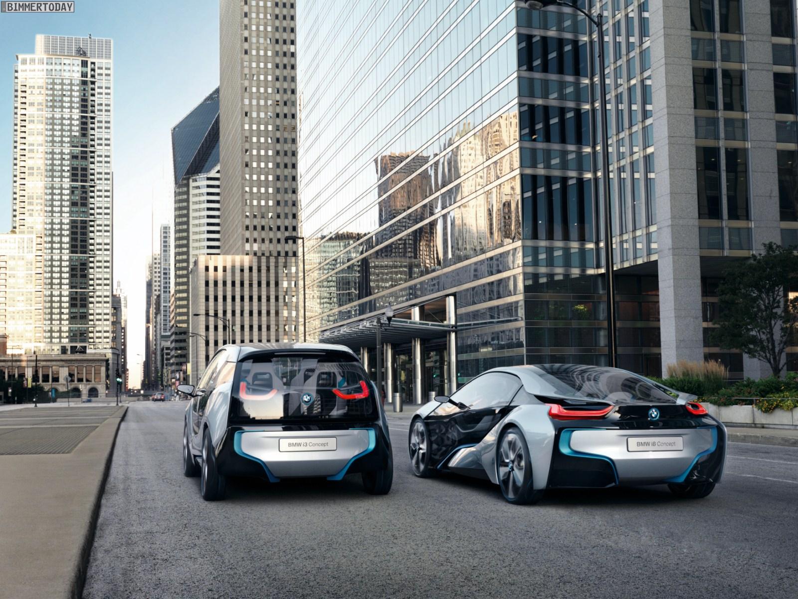 BMW i3 Concept und i8 Concept 021
