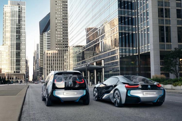 BMW i3 Concept und i8 Concept 0211 750x500