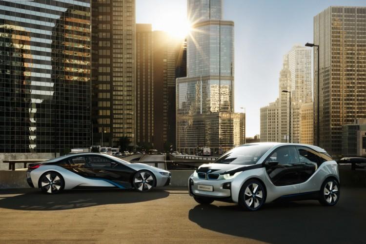 BMW i3 Concept und i8 Concept 0321 750x500