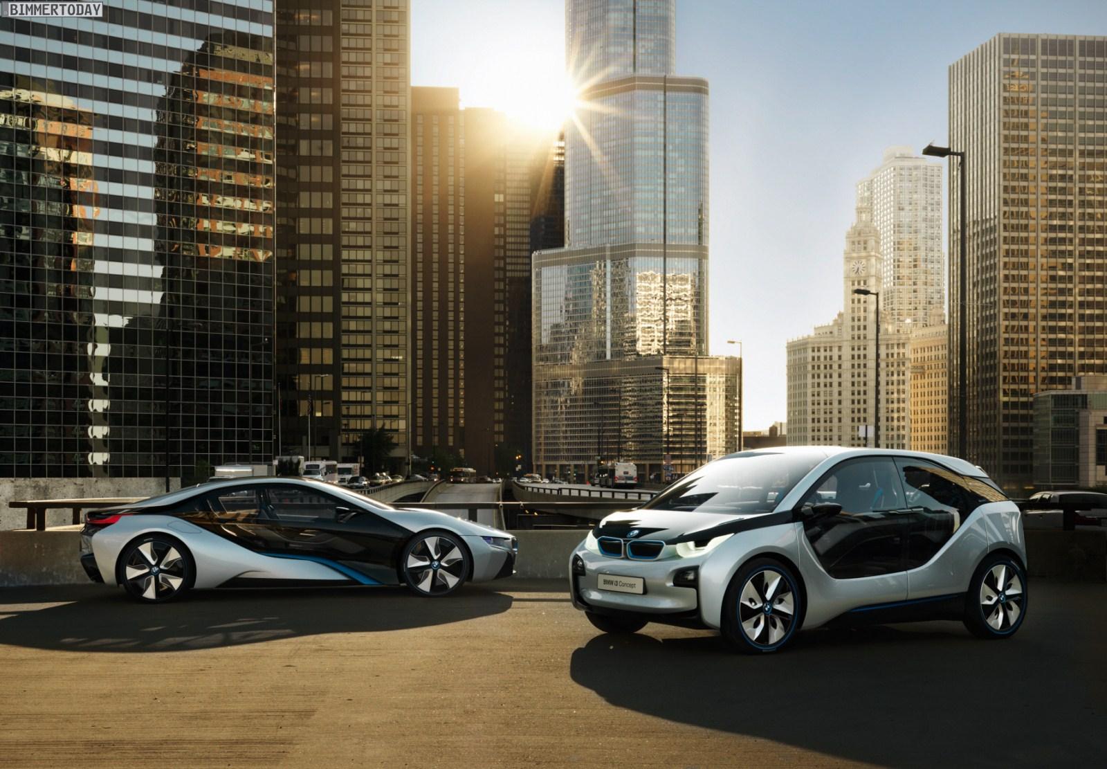 BMW i3 Concept und i8 Concept 0321