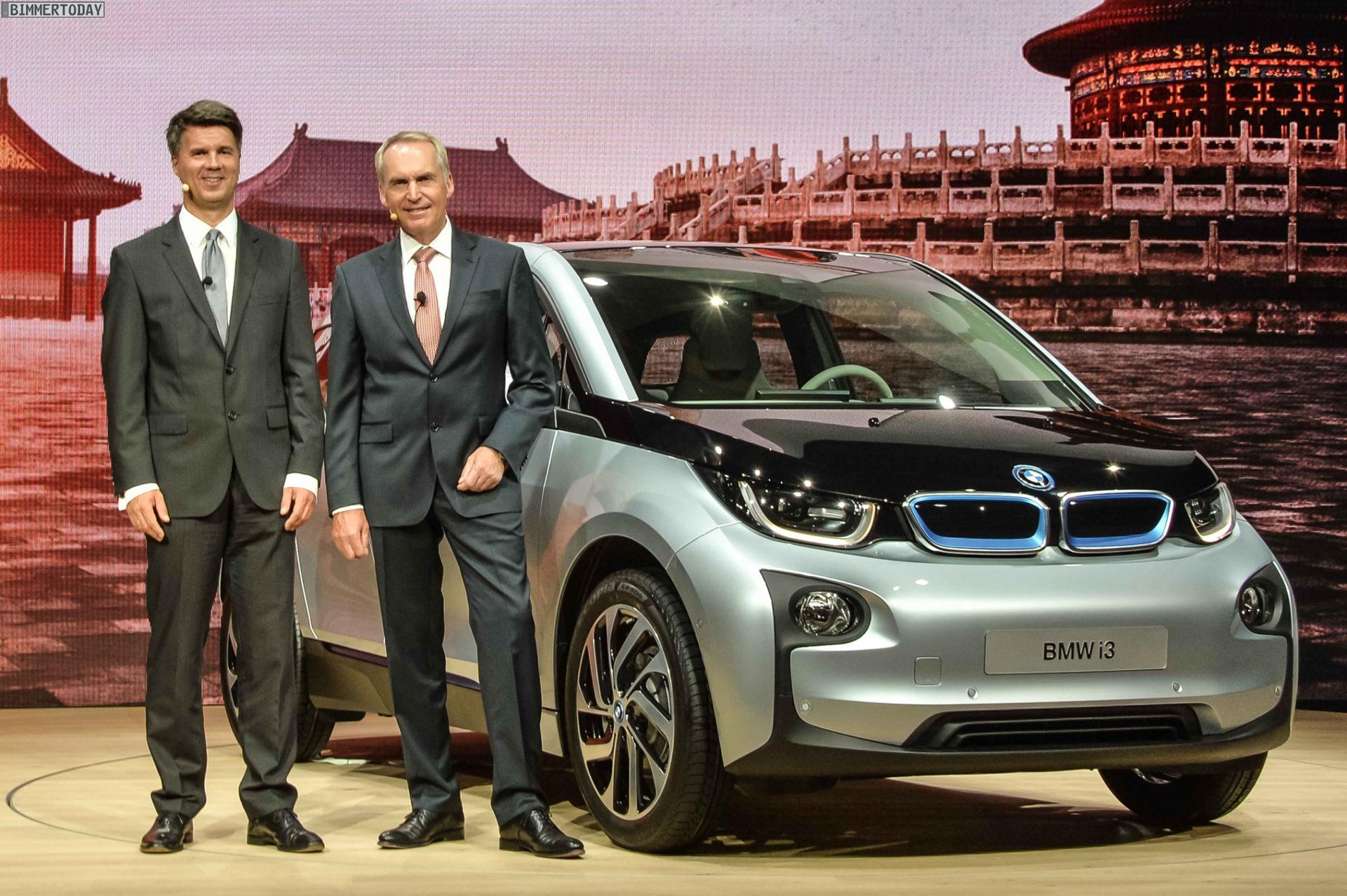 BMW i3 Harald Krueger Friedrich Eichiner Profitabilitaet