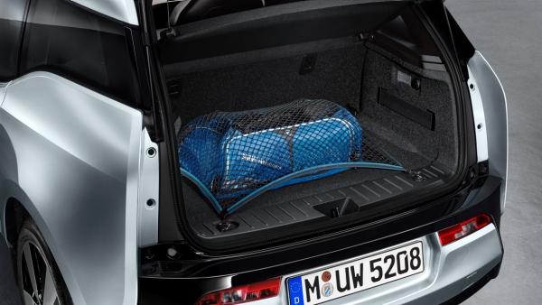 BMW i3 Zubehoer Transportnetz