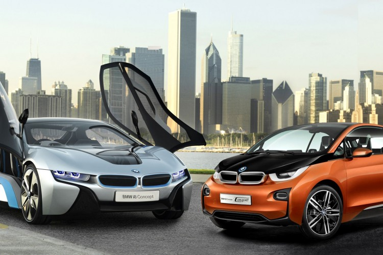 BMW i3 and BMW i8 Concept 750x500