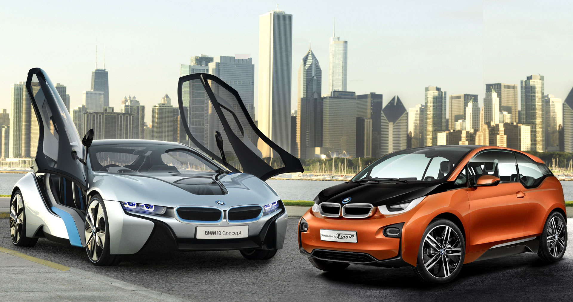 BMW i3 and BMW i8 Concept