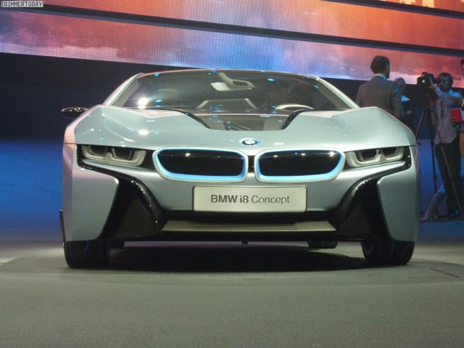BMW i3 i8 Concept IAA 2011 Preview Live 18 655x491