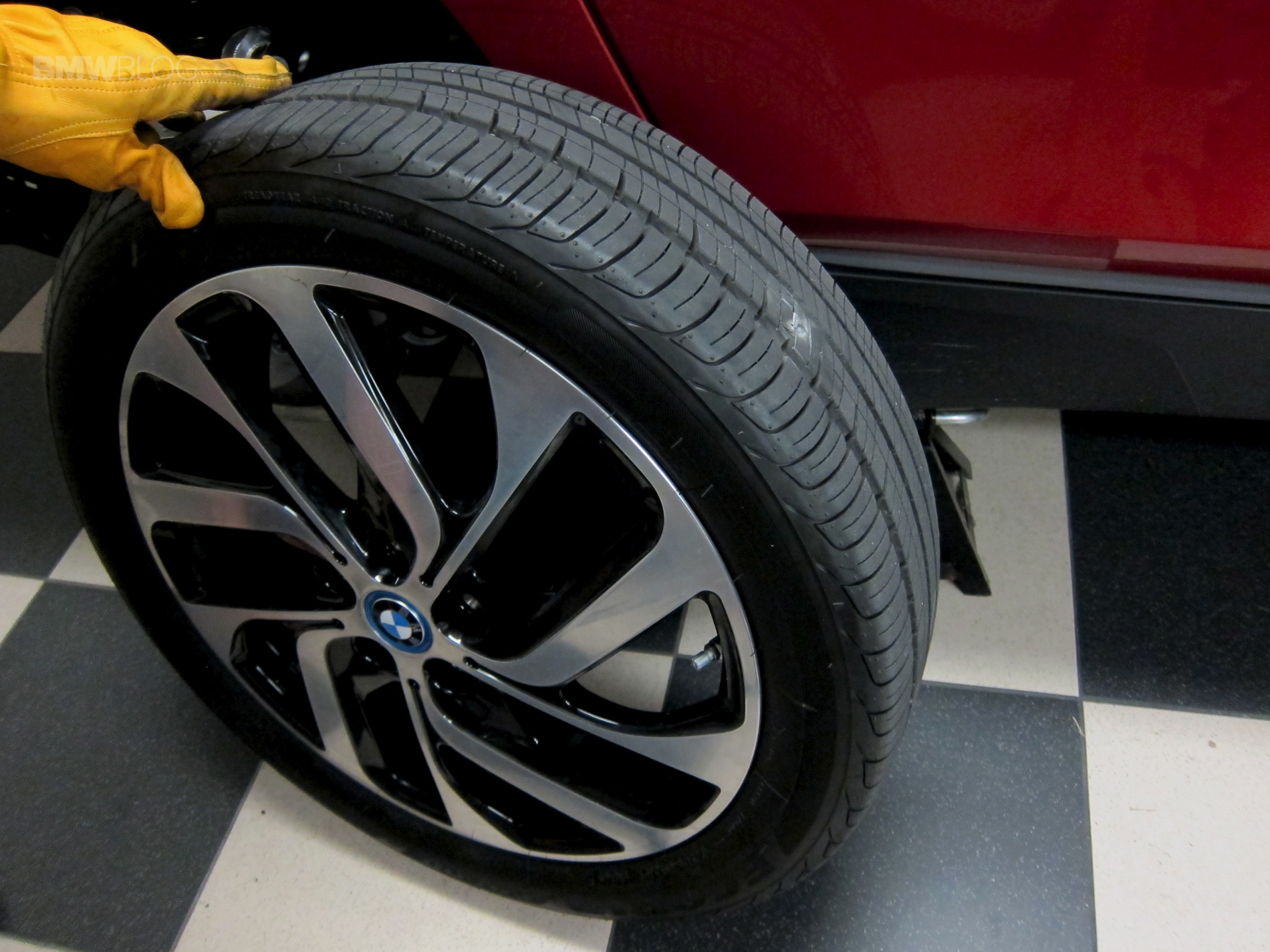 Flat Tire On Bmw I3 Tpms Comes To Rescue