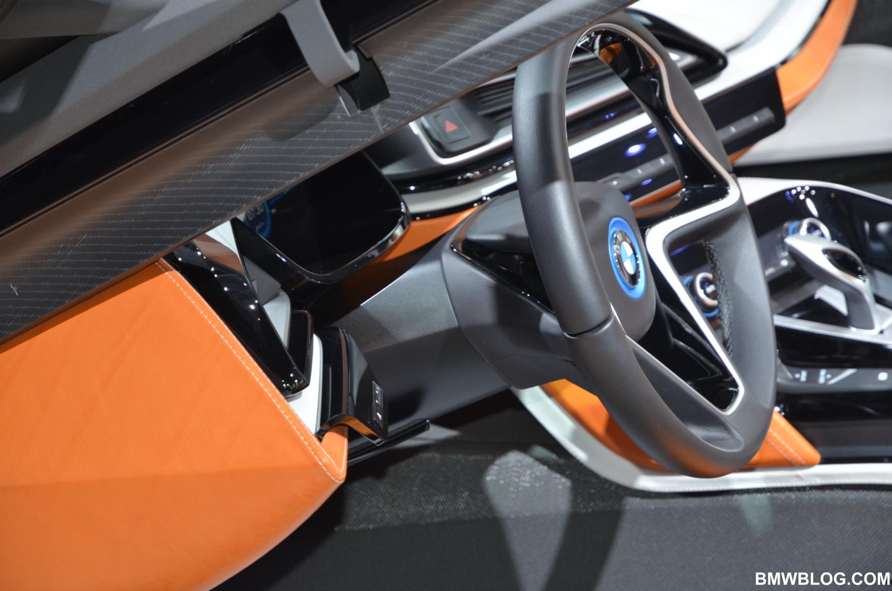 2012 Paris Motor Show Bmw I8 Spyder Concept