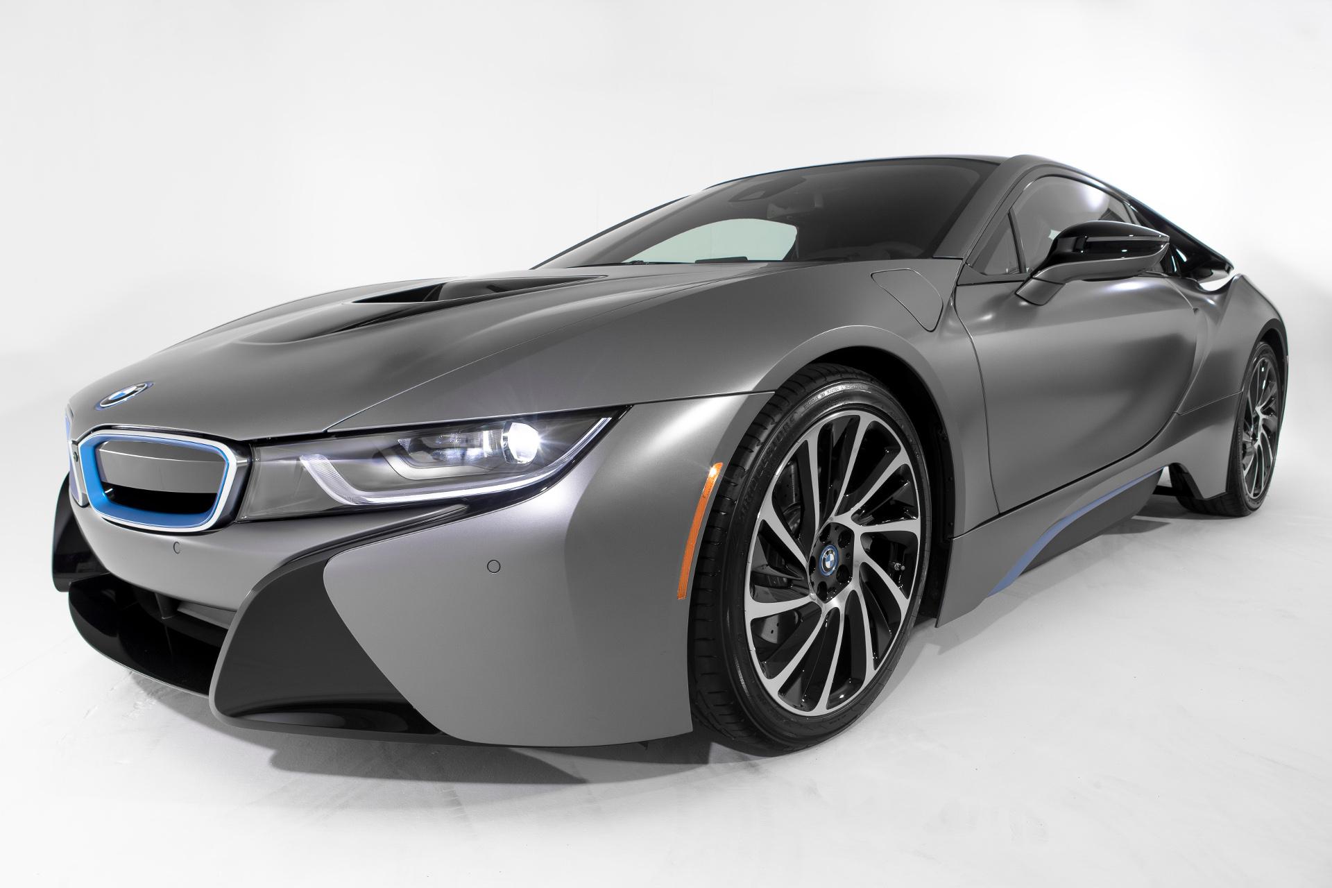 BMW i8 Concours d Elegance Edition 2014 Pebble Beach Frozen Grey 09