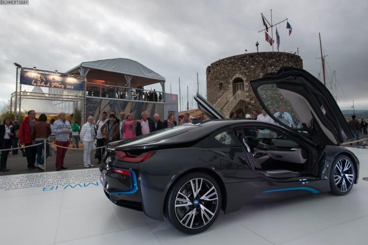 BMW i8 Les Voiles 2013 Saint Tropez Yacht Regatta 04 750x500