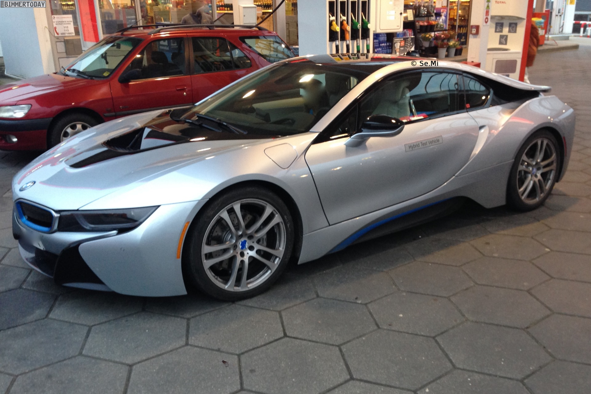 Bmw I8 Iconic Silver Real Life Photos
