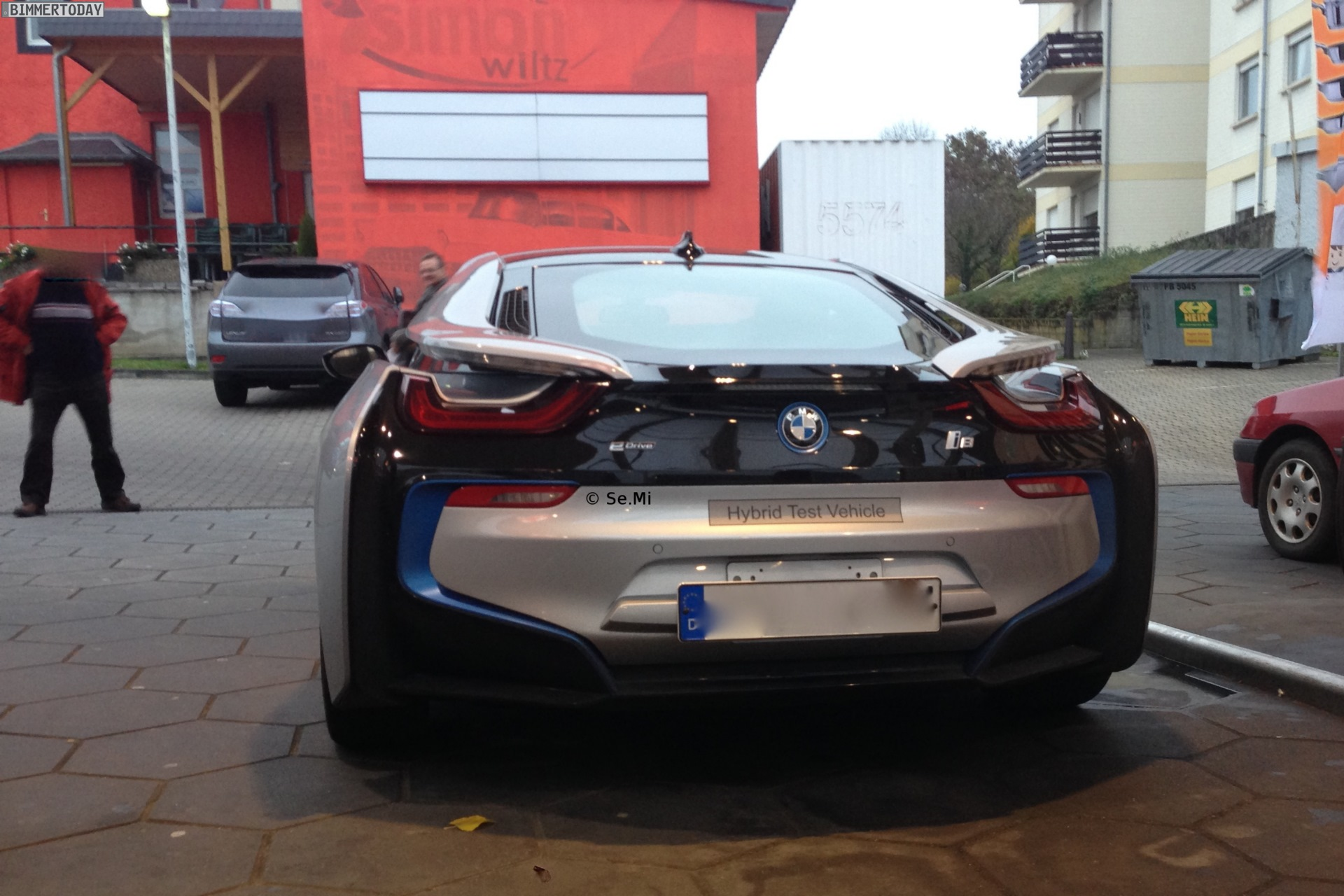 New Bmw I8 Spotted On The Road In Frankfurt