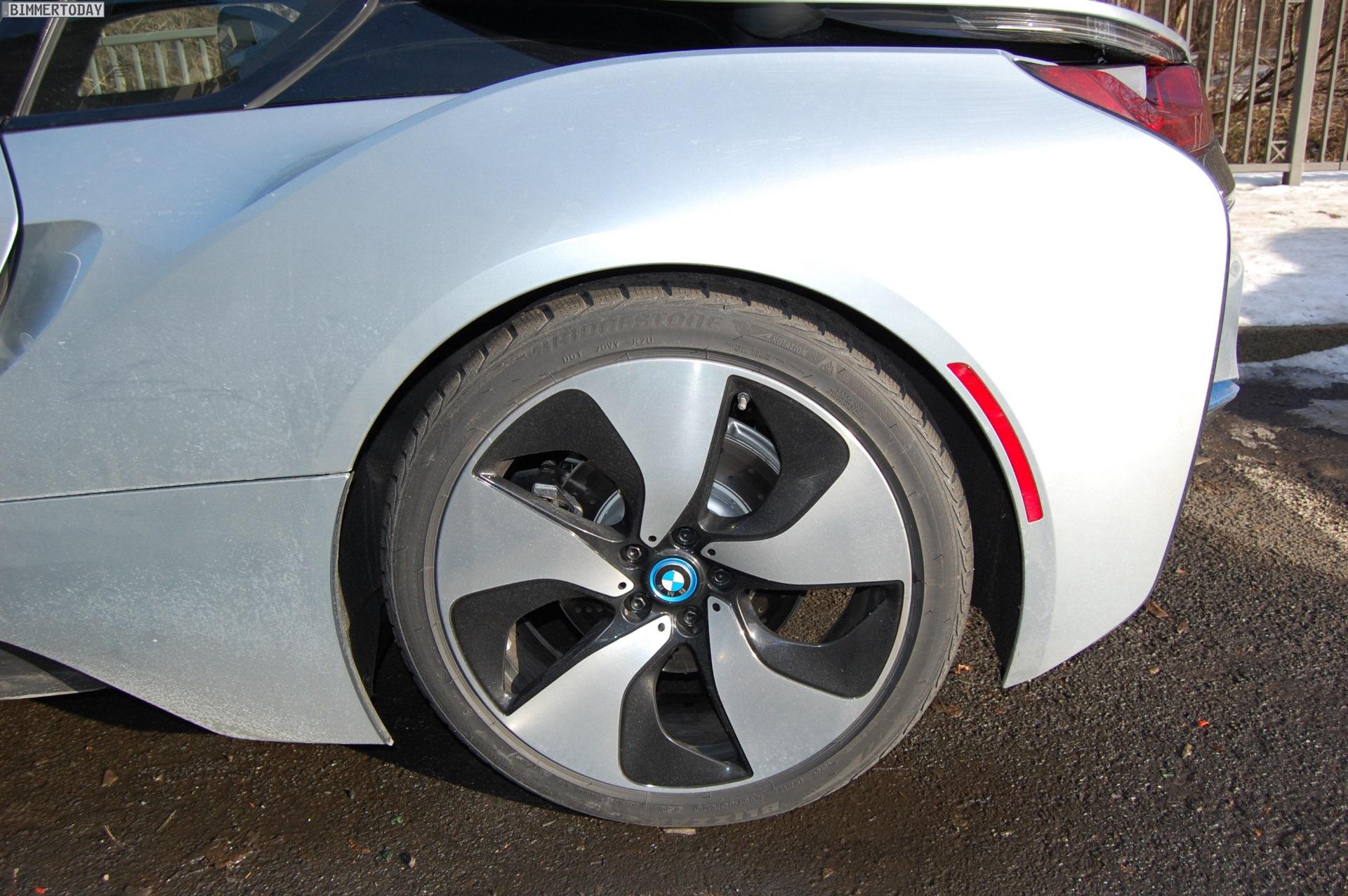 BMW i8 Live Fotos Ionic Silver Akzent i Blau Leipzig 10