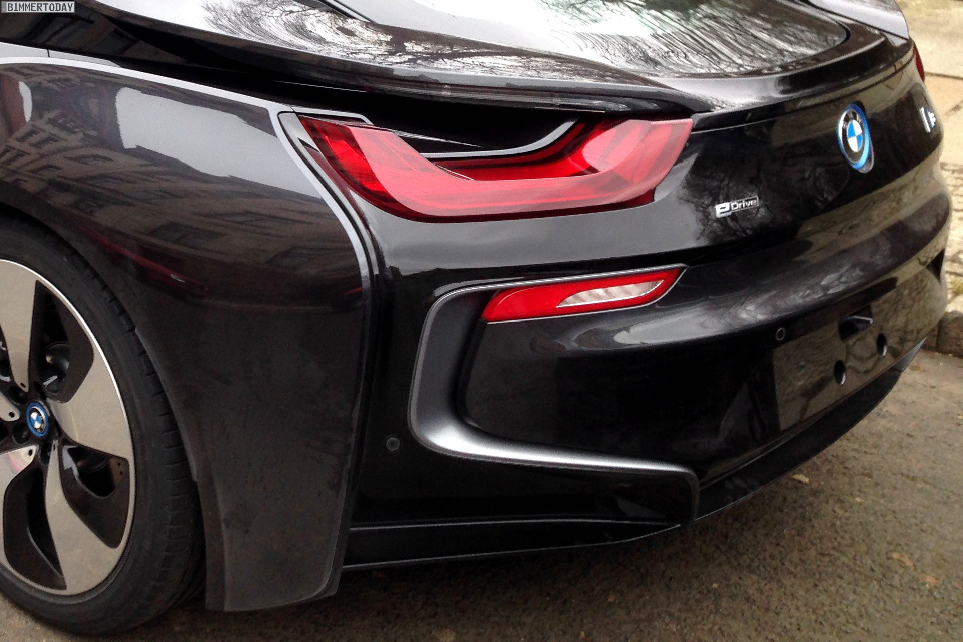 Bmw I8 In Sophisto Grey With Frozen Grey Accents