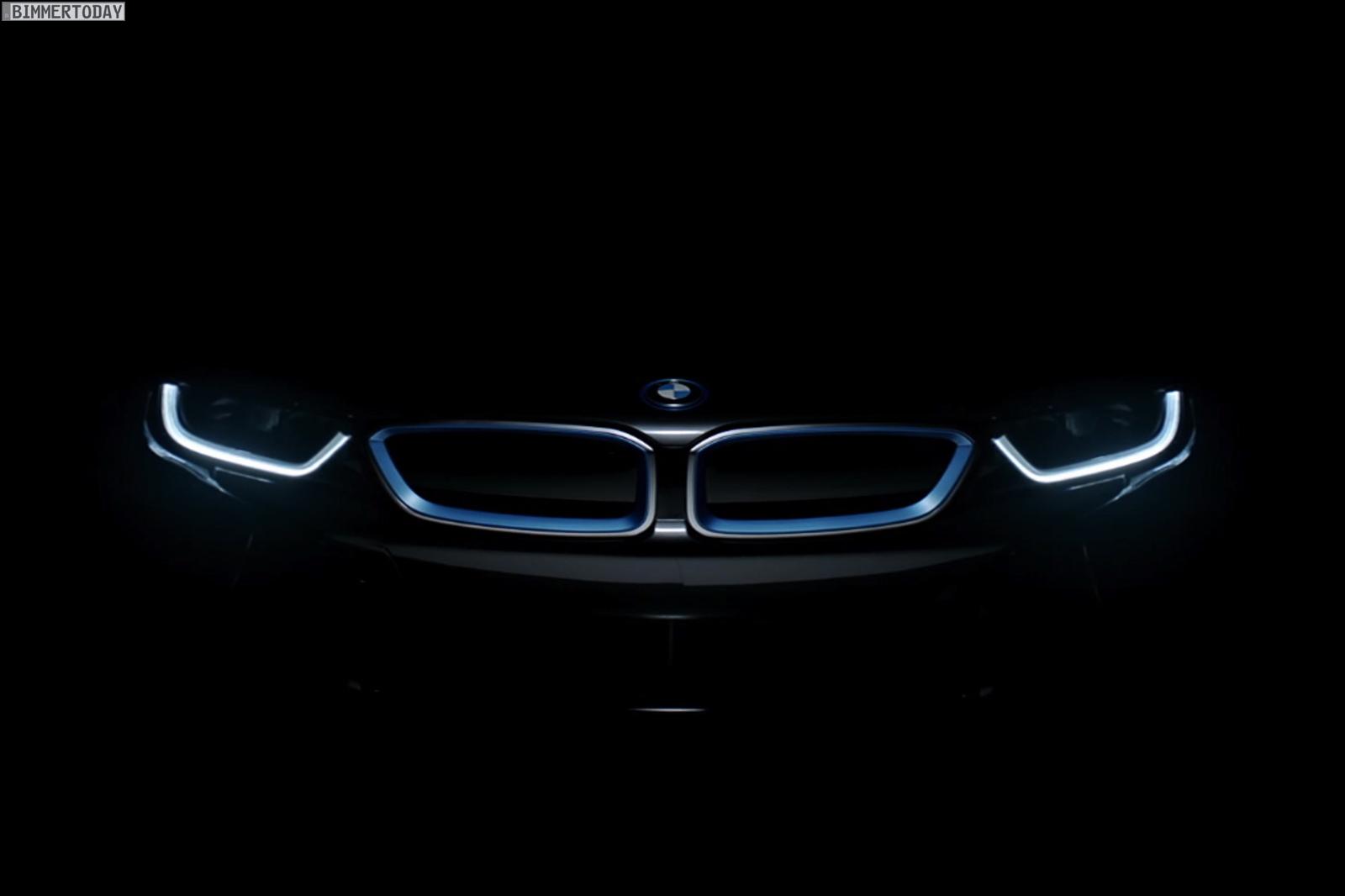 BMW i8 Teaser IAA Frankfurt 2013 Hybrid Sportwagen