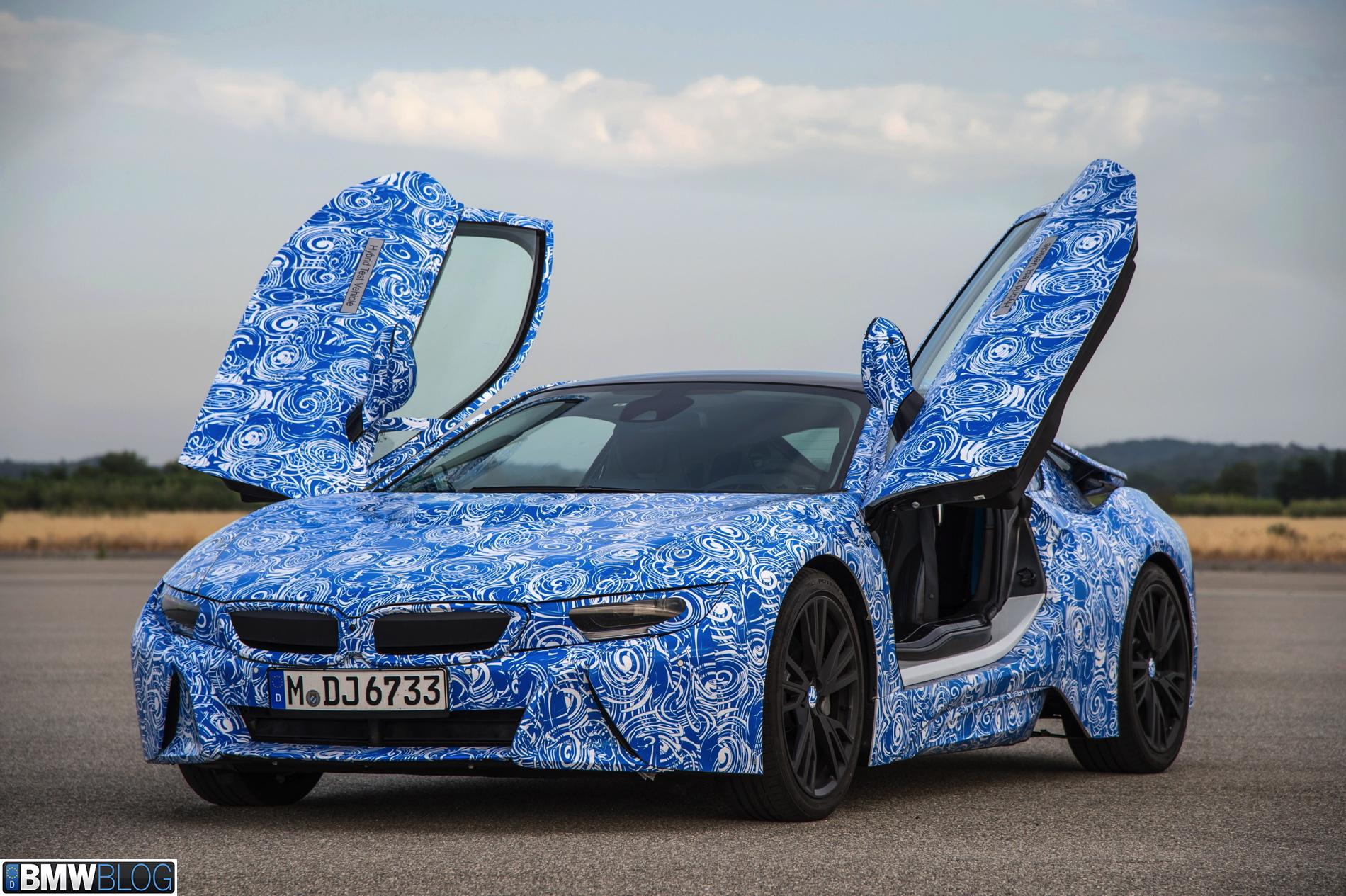 BMW i8 pre drive 591