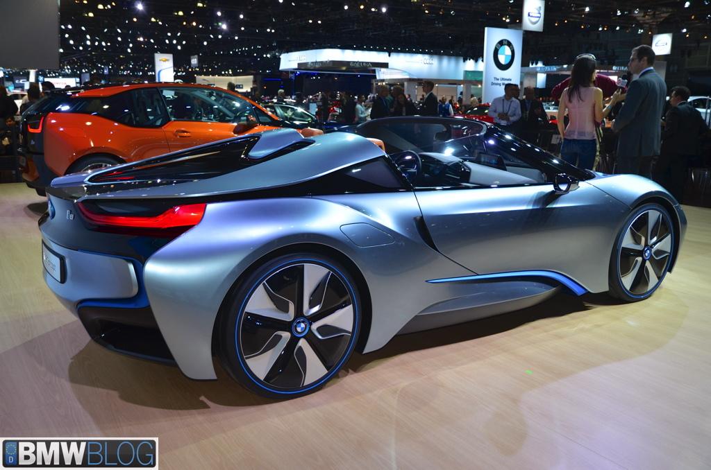 2012 La Auto Show Bmw I8 Spyder