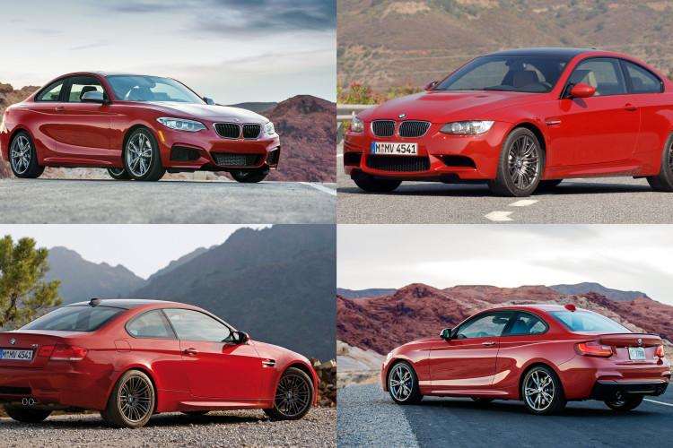 BMW m3 vs m235i 750x500