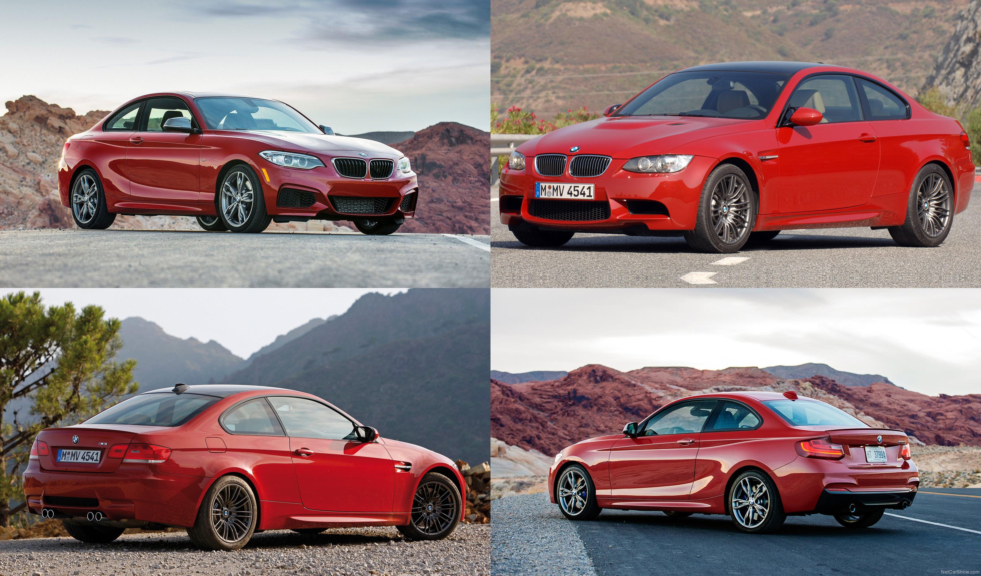 BMW m3 vs m235i
