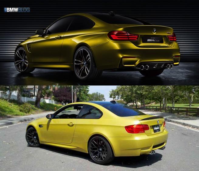BMW-m4-E92-M3-comparo