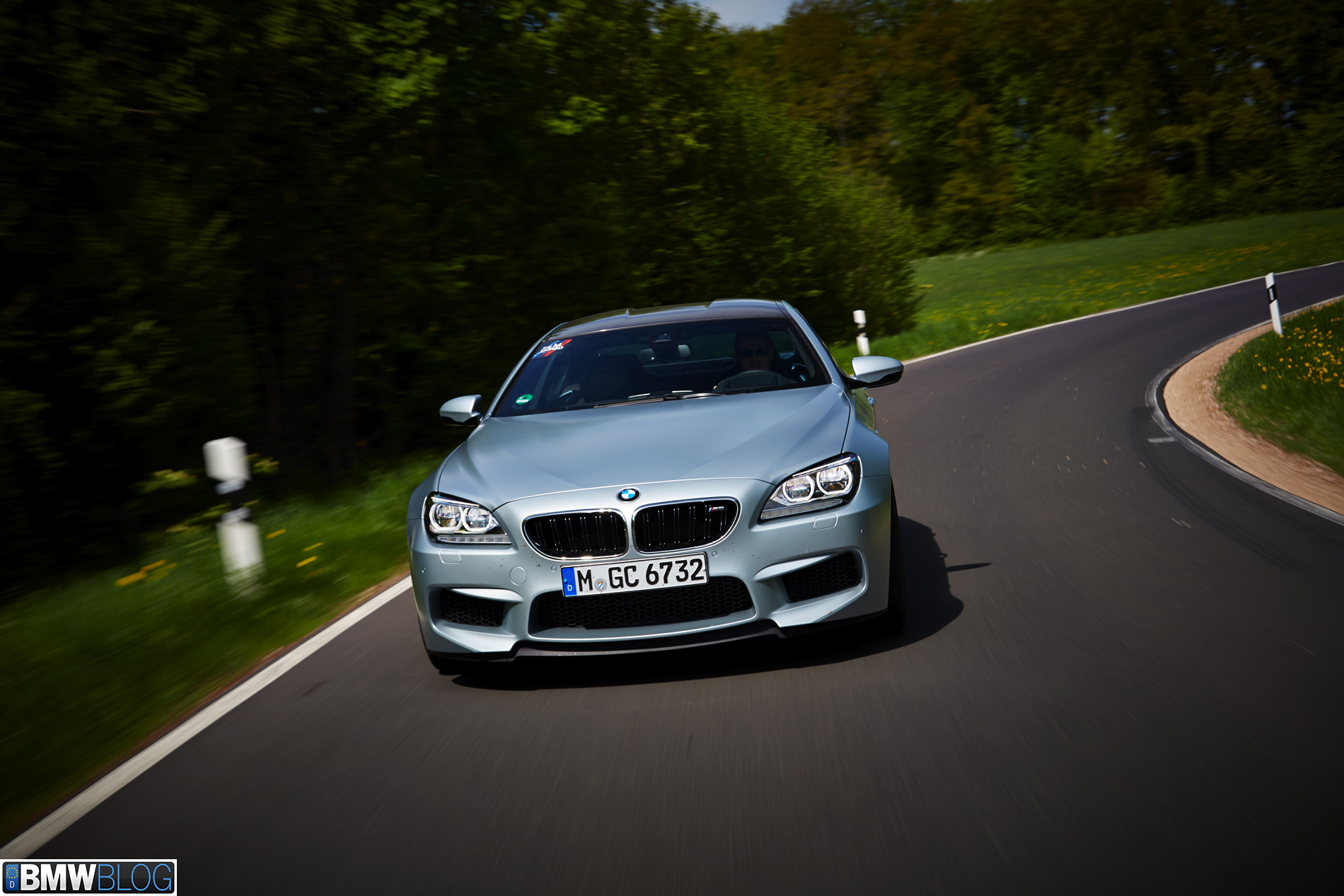 BMW m6 gran coupe test drive 01