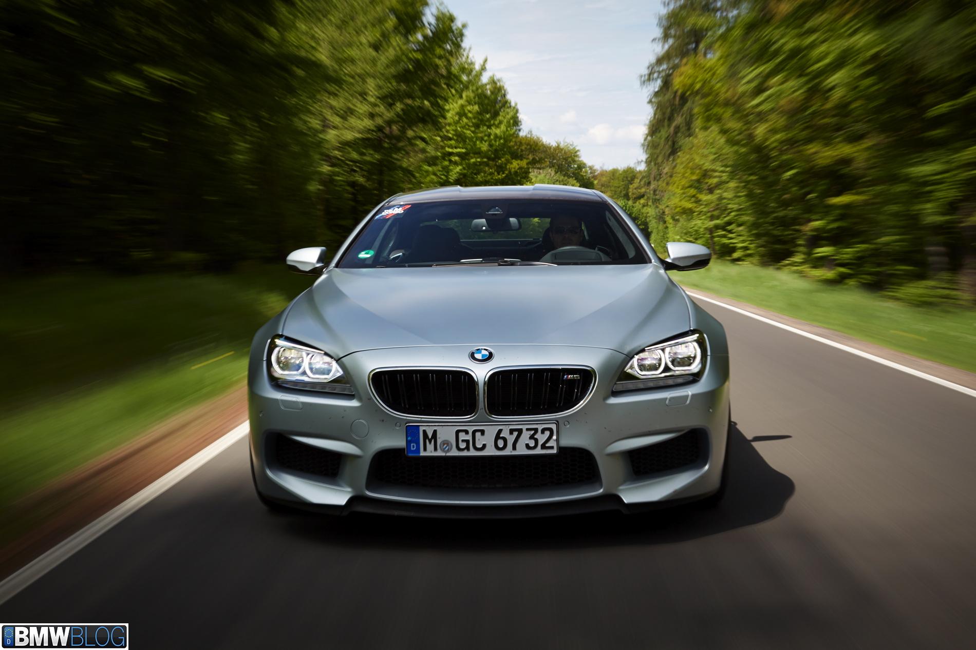 BMW m6 gran coupe test drive 06