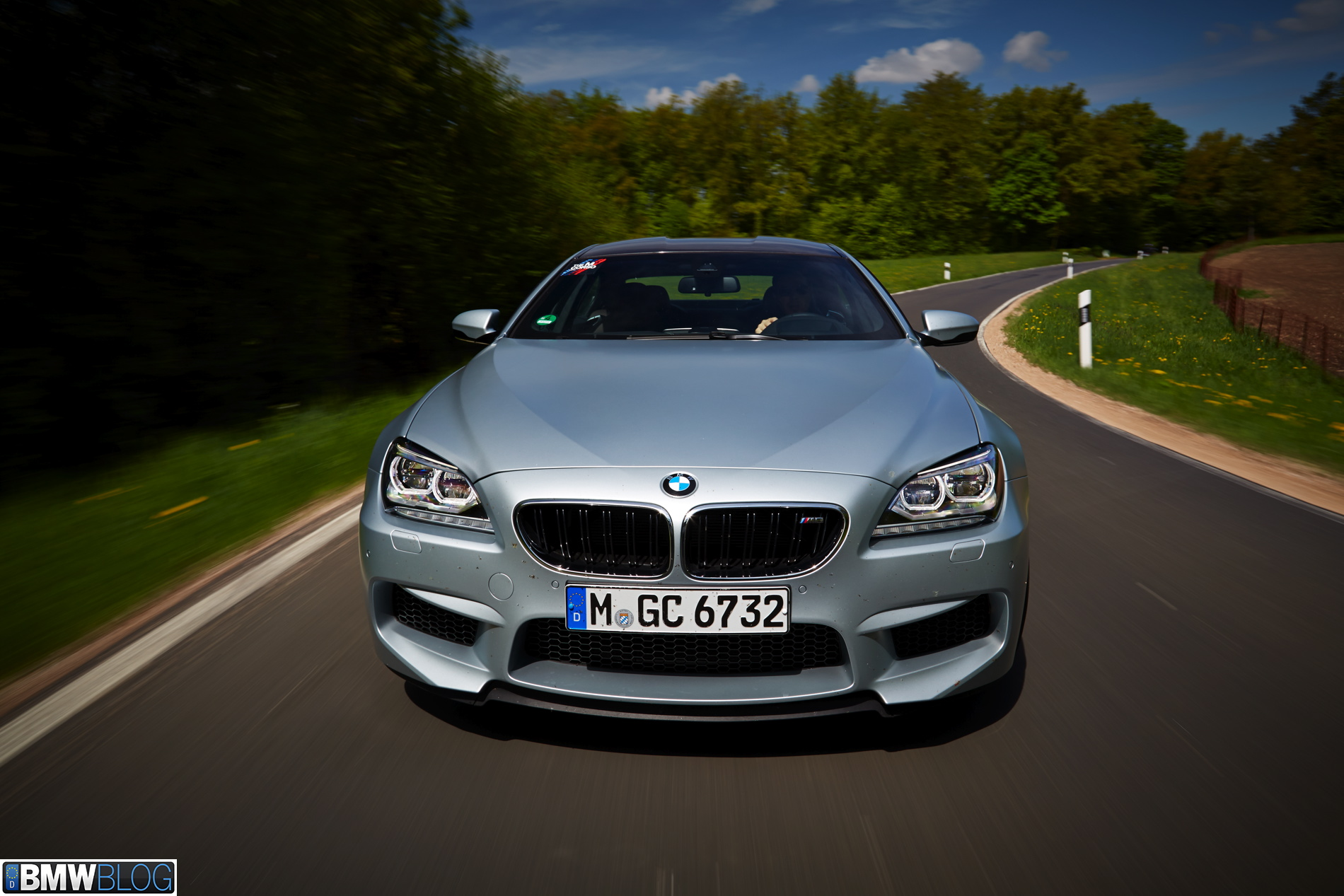 BMW M6 Gran Coupe Test Drive 131 750x500