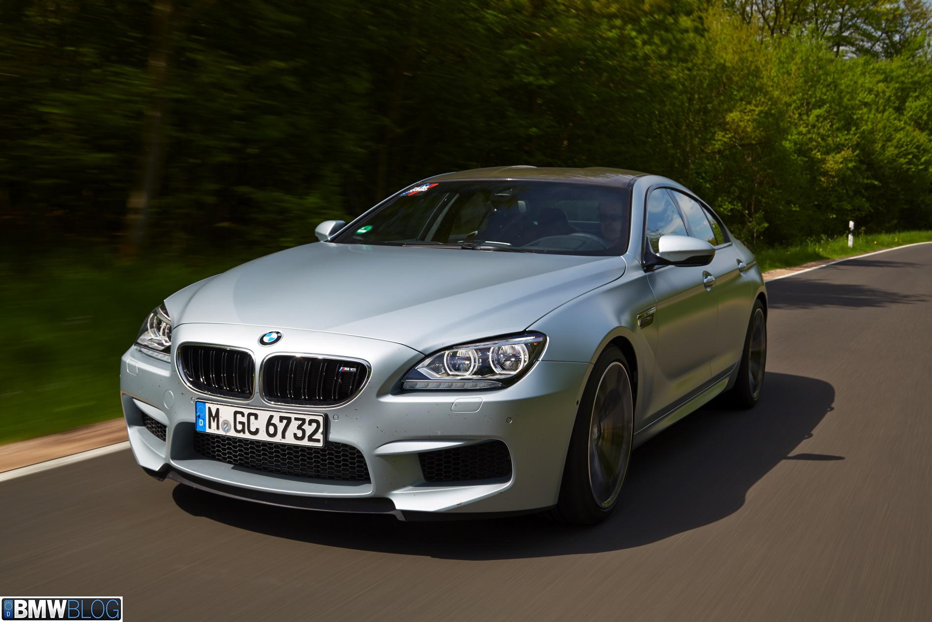 BMW m6 gran coupe test drive 14