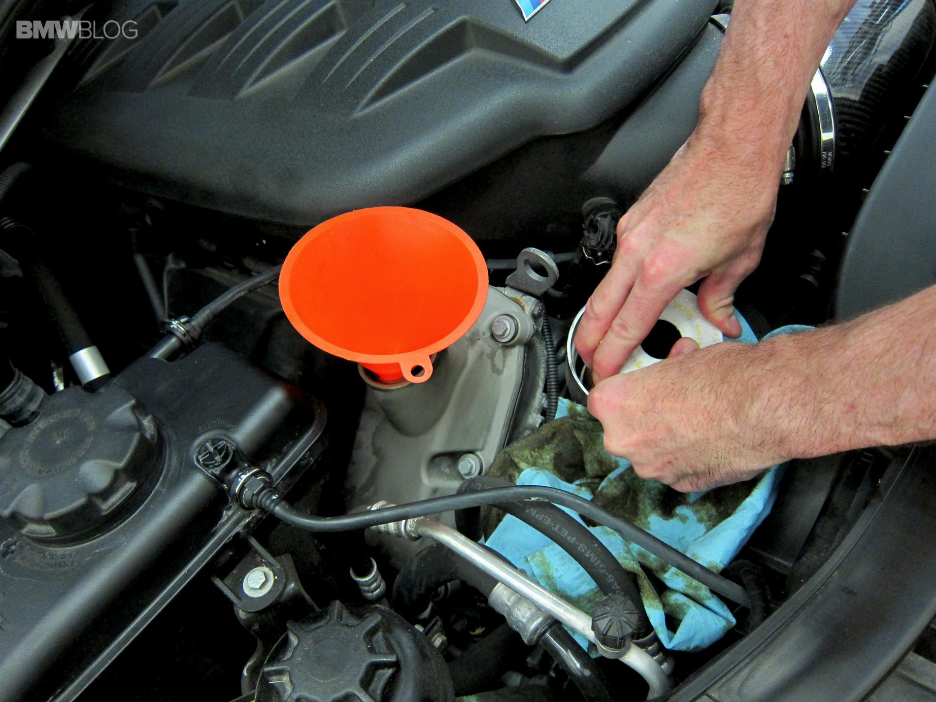 BMW oil change castrol 24