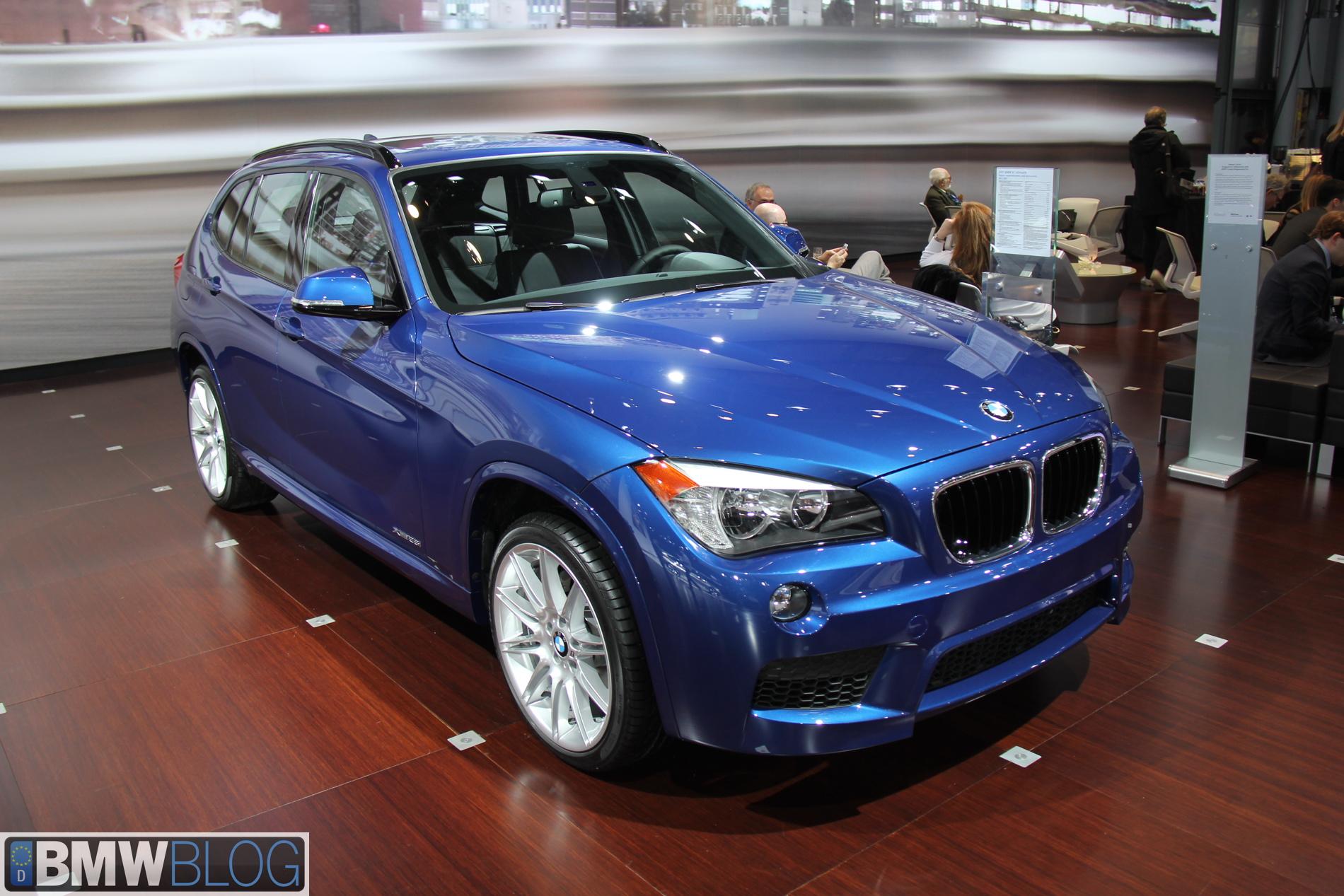 BMW x1 new york auto show 01
