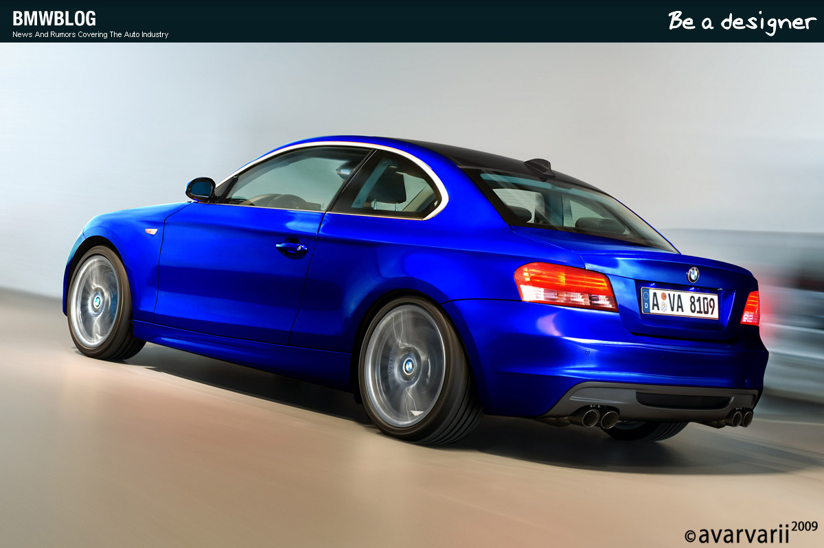 Be A Designer Here Is The Bmw 135i Coupe Redesigned By You