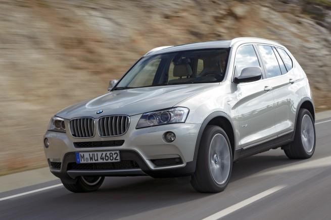 BMW 2011 X3 655x436