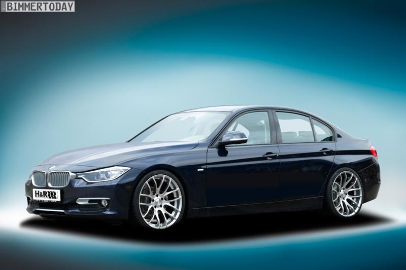 BMW 3er F30 H R Fahrwerk