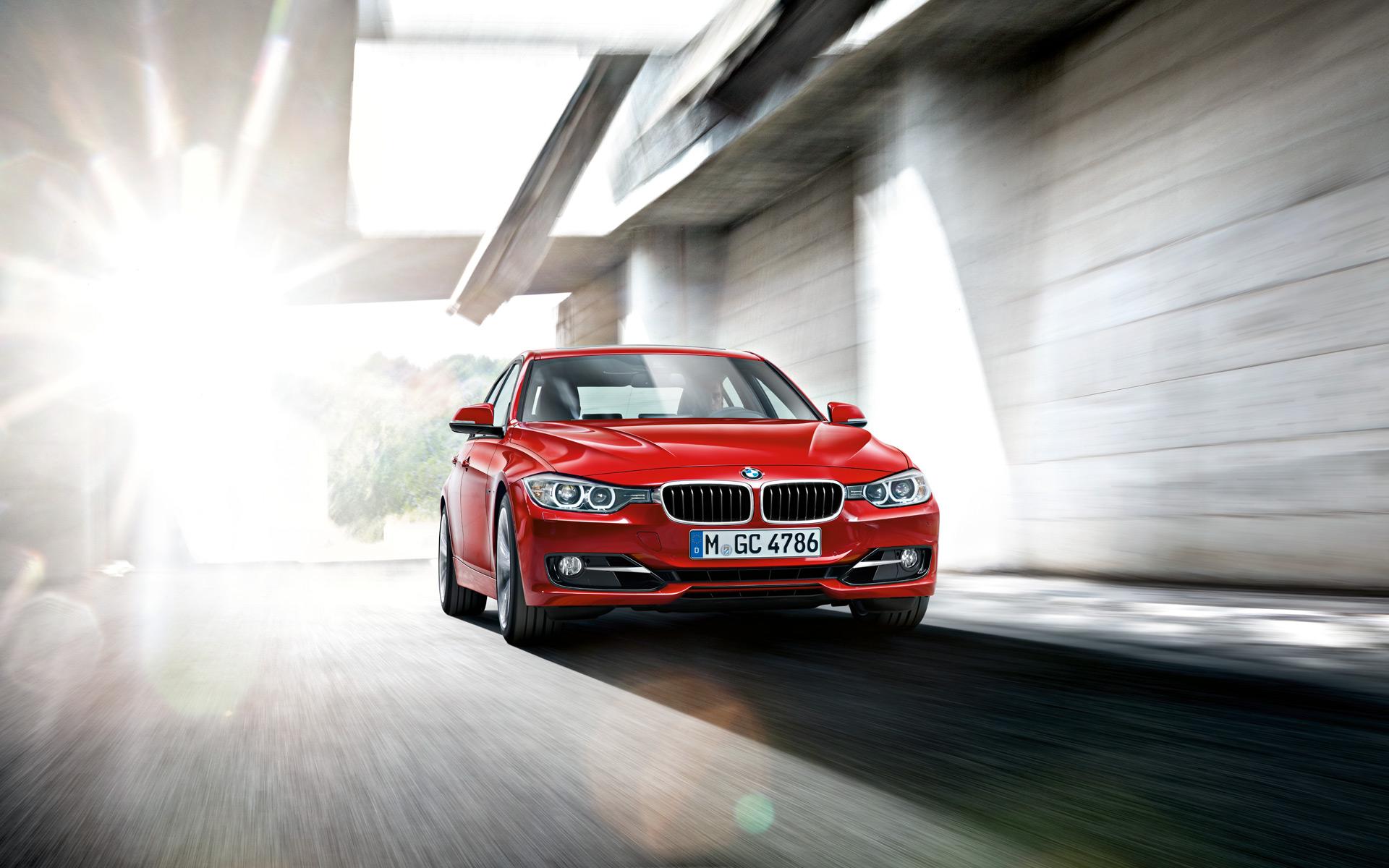 wallpapers: 2012 bmw 3 series sedan